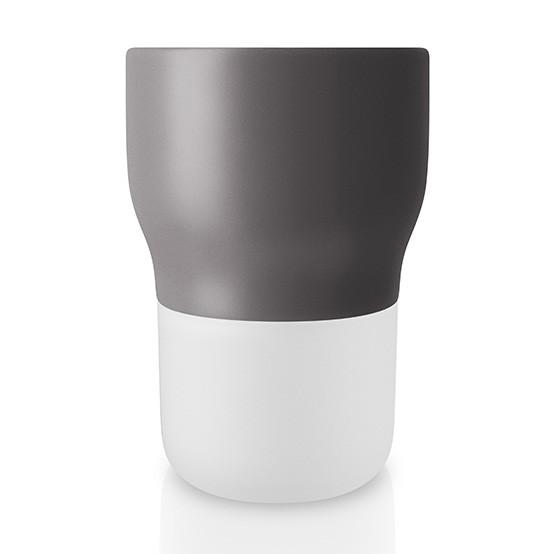 Medium Curvy Pot in Nordic Grey