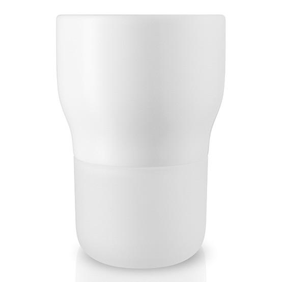 Large Curvy Pot in Chalk White