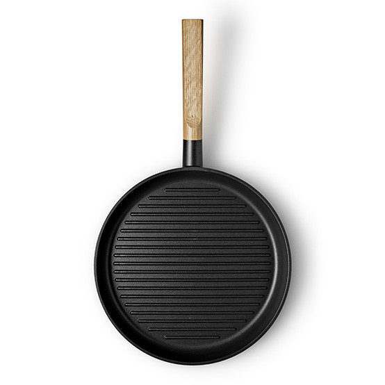 Nordic Kitchen Non-Stick Grill Frying Pan