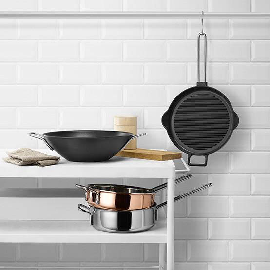 Cast Iron Grill Frying Pan