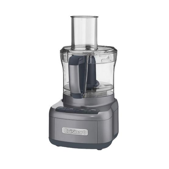Elemental 8 Cup Food Processor in Gunmetal Grey