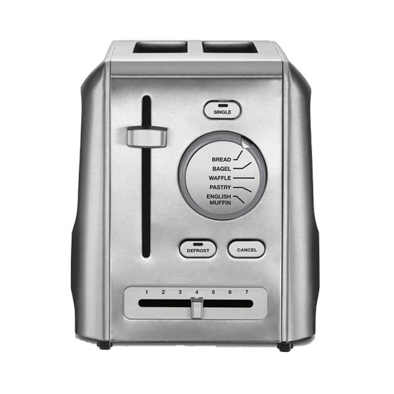 Custom Select 2 Slice Toaster