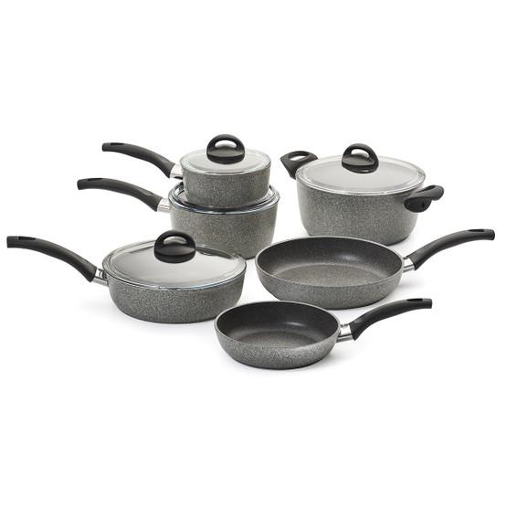 Parma 10 Piece Aluminum Nonstick Cookware Set