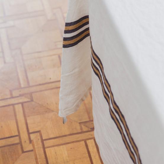 Norfolk Banks Tablecloth in Stripe