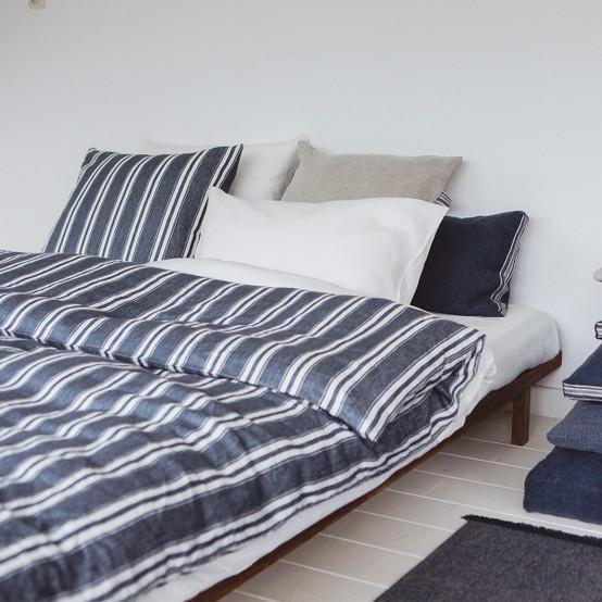 Folkestone Duvet Cover in Stripe