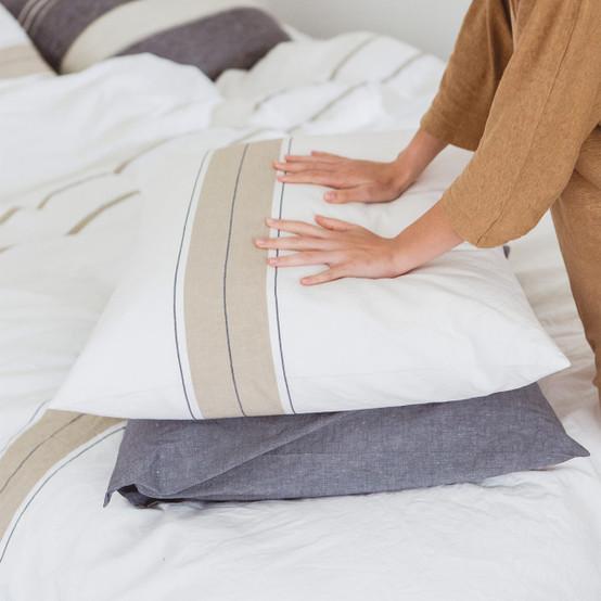 Zwin Stripe Pillow Sham in Stripe