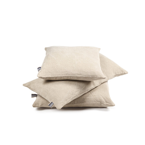 The Galloper Pillow Cover in Flax 25 x 25