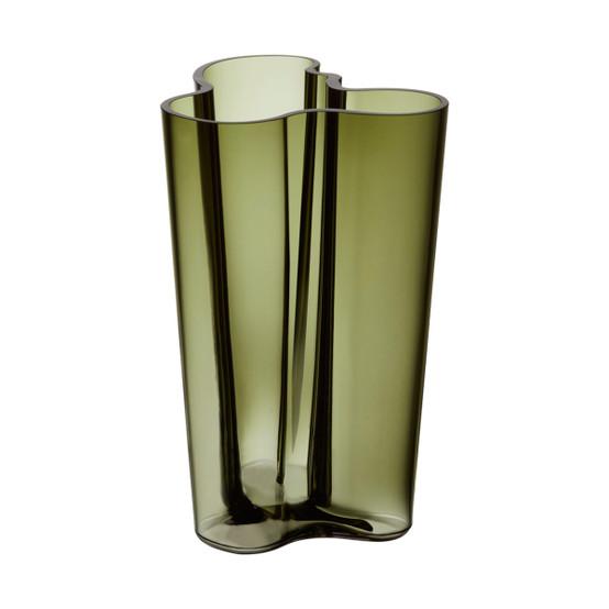 Aalto Finlandia 10 inch Vase in Moss Green