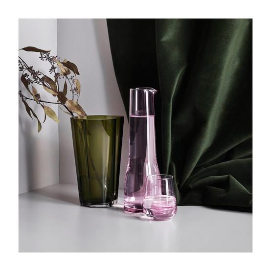 Aalto 8.75 inch Vase in Moss Green