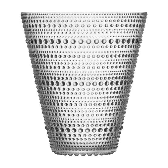 Kastehelmi 6 inch Vase in Clear