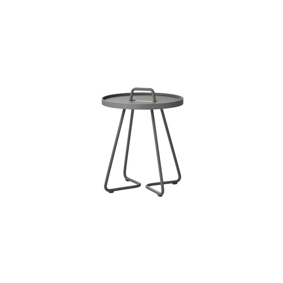 On-The-Move Extra Small Side Table in Light Grey