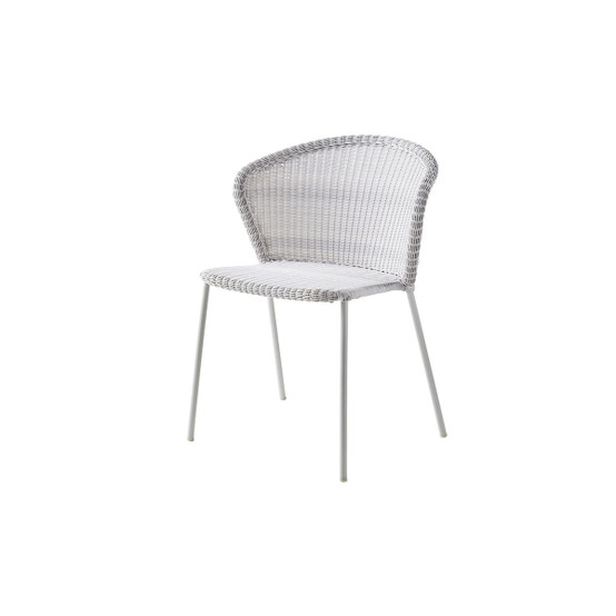 Lean Chair in White