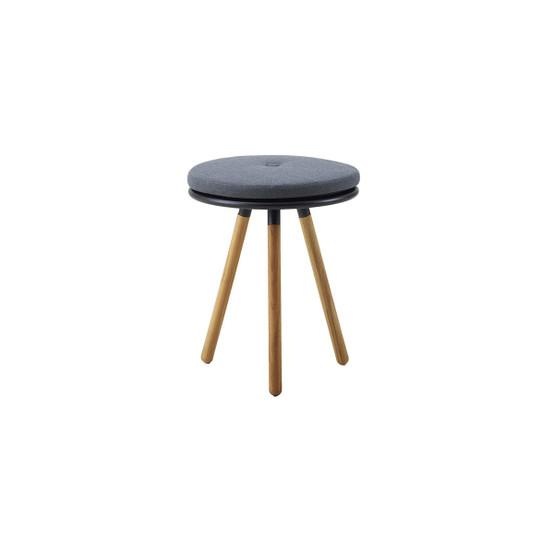 Area Cushion for Table/Stool in Grey Sunbrella