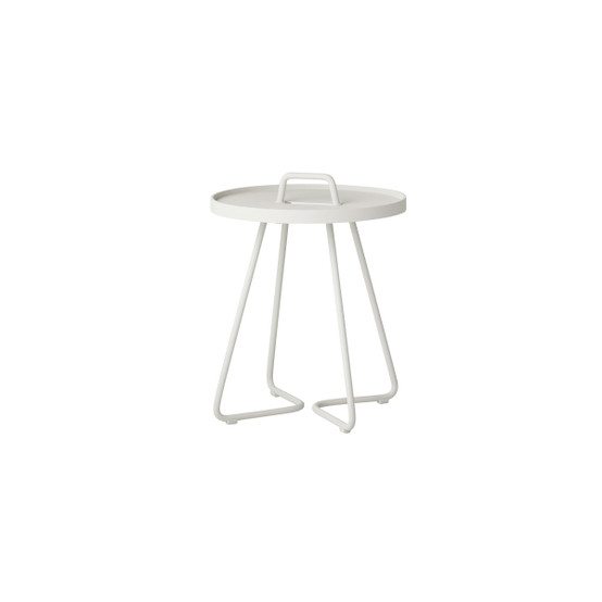 On-The-Move XSmall Side Table in White