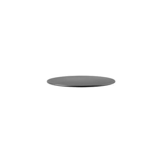 Go 23.5 inch Table Top in Lava Grey Aluminum