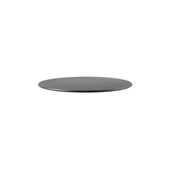Go 31.5 inch Table Top in Lava Grey Aluminum