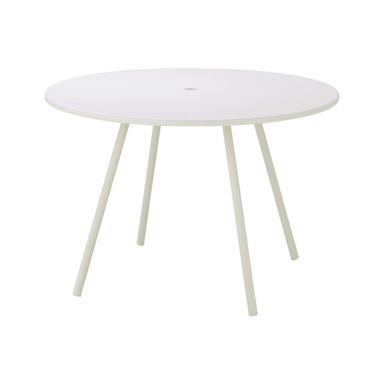 Area Table in White