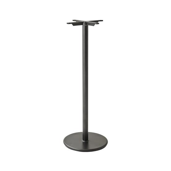 Go Bar Table Base in Lava Grey