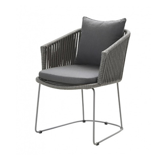 Cushion Set for Moments Dining Armchair in Grey