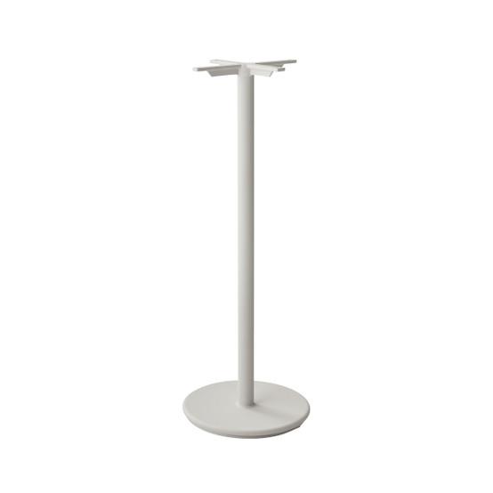 Go Bar Table Base in White