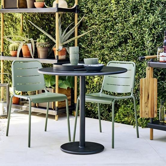 Copenhagen City Chair in Olive Green