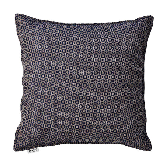 Dot Scatter Cushion in Midnight Blue