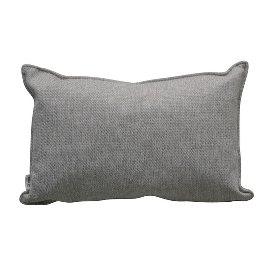 Comfy Scatter Cushion in White Grey