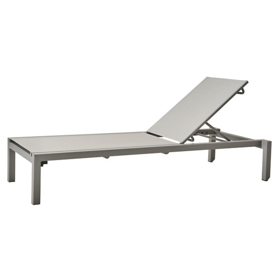 Relax Sunbed in Light Grey