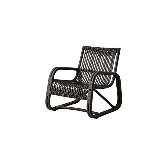 Curve Lounge Chair in Black