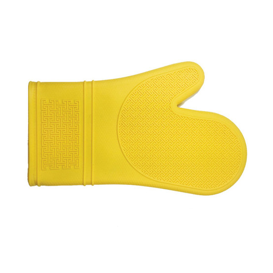 Silicone Oven Mitt in Yellow