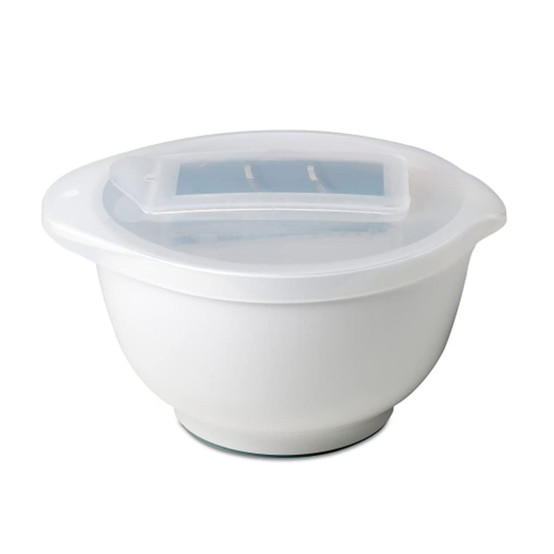 3 L Margrethe Mixing Bowl with Multi-Lid in White