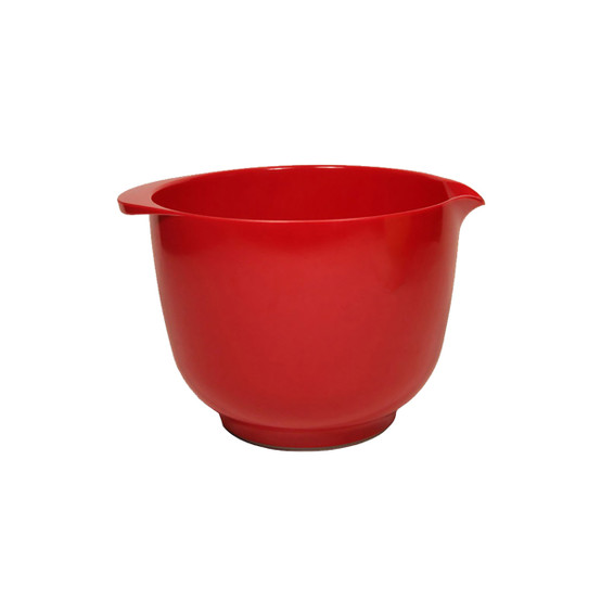 2 L Margrethe Mixing Bowl in Luna Red