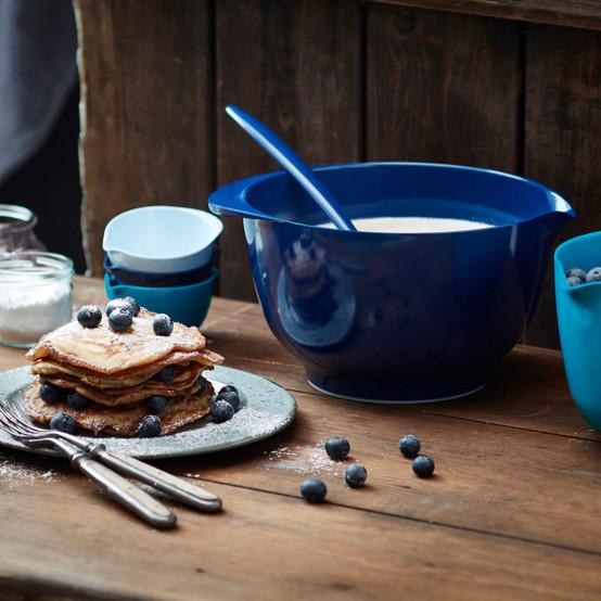 4 L Margrethe Mixing Bowl in Cobalt Blue