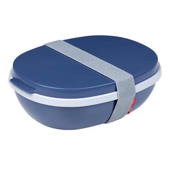 Ellipse Duo Lunch Box in Nordic Denim