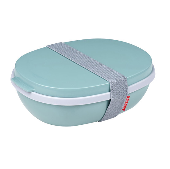 Ellipse Duo Lunch Box in Nordic Green