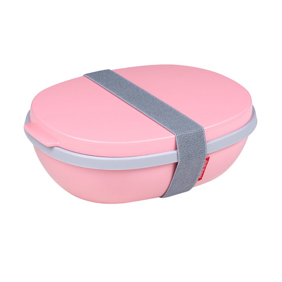 Ellipse Duo Lunch Box in Nordic Pink