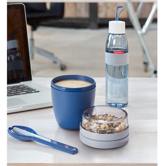 Ellipse Lunch Pot in Nordic Denim