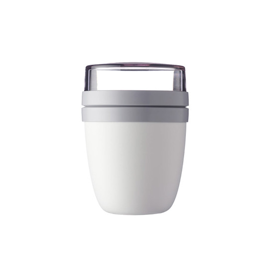 Ellipse Lunch Pot in White