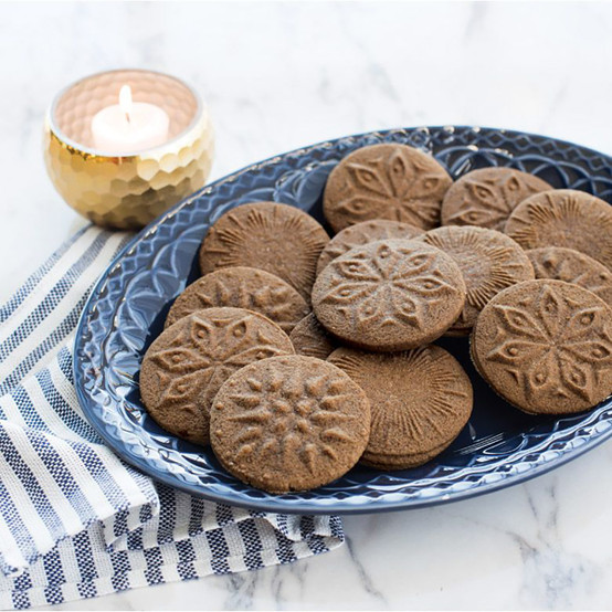 Starry Night Heirloom Cookie Stamps