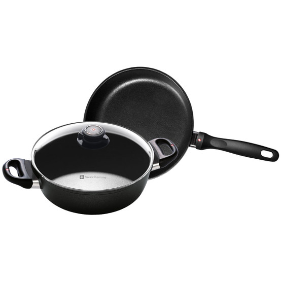 XD Induction 3 Piece Set: Fry Pan and Casserole