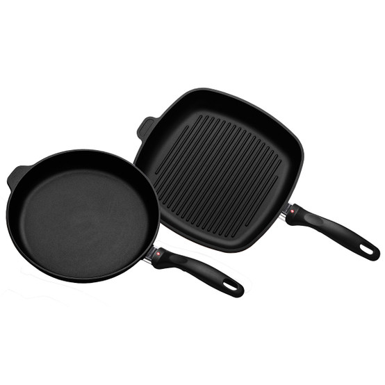 XD 2 Piece Set: Fry Pan and Grill Pan
