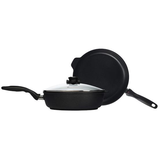 XD 3 Piece Set: Fry Pan and Saute Pan