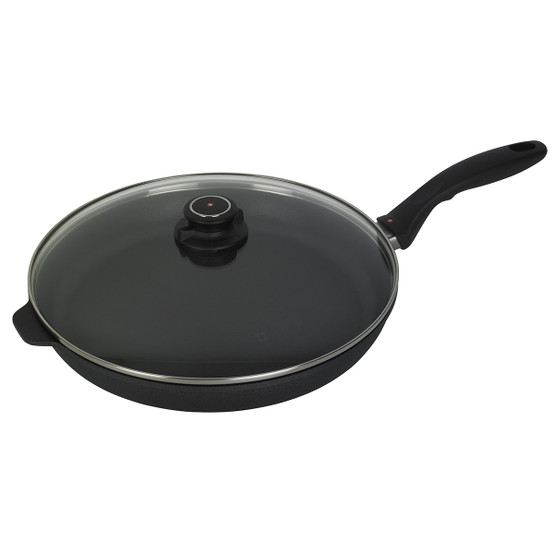 """XD Induction Fry pan w/ Lid - 12.5"""""""