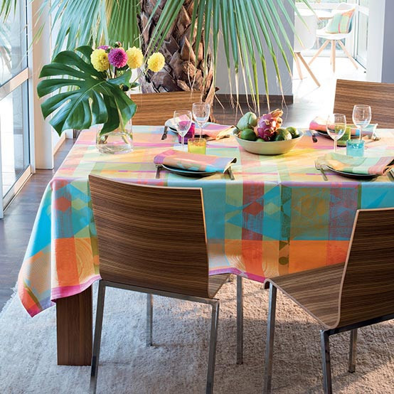 Mille Tingari Tablecloth in Austral