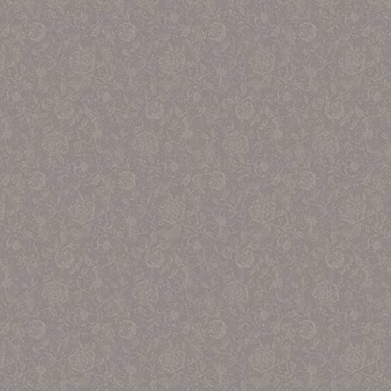 Mille Charmes Taupe Coated Fabric (Price/Inch)