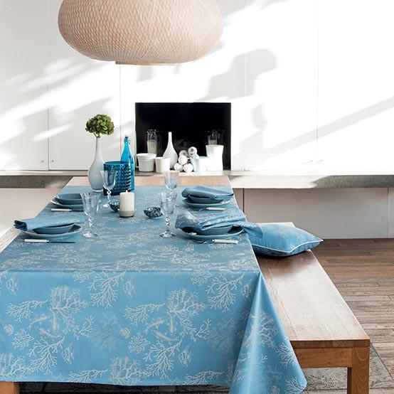 Mille Coraux Océan Coated Fabrics (Price/Inch)