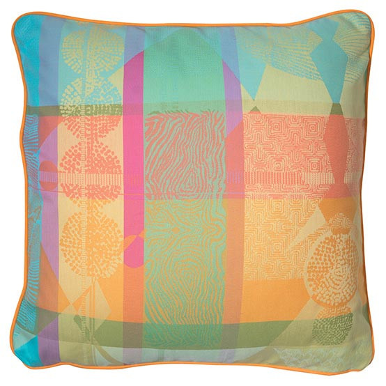 Mille Tingari Cushion Cover in Austral