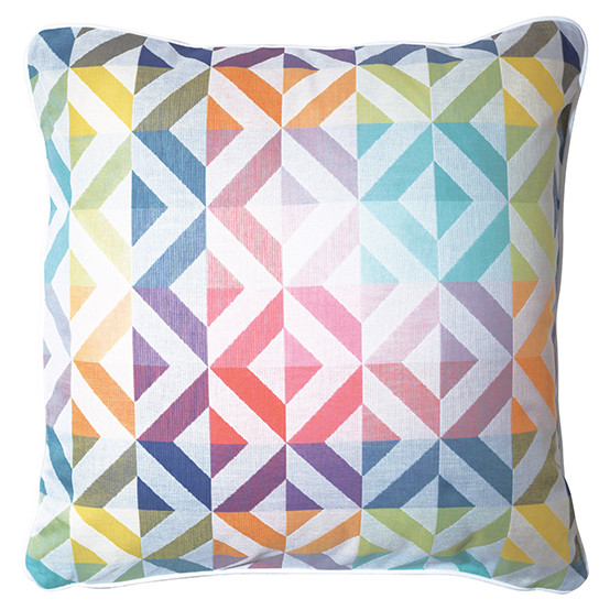 Mille Twist Small Cushion Cover in Pastel