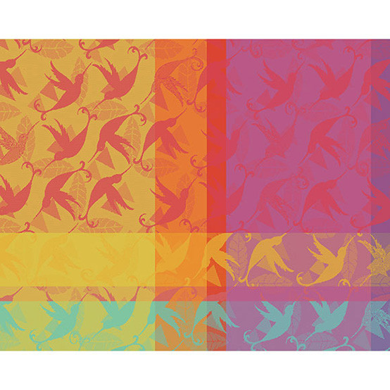 Mille Colibris Antilles Placemat 16 x 20