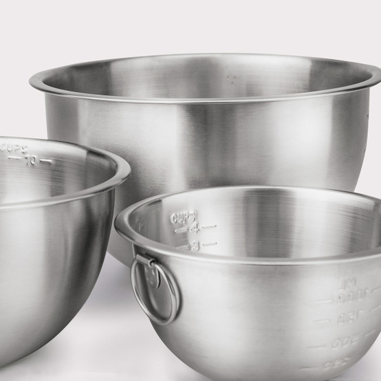 Stainless Steel Mixing Bowls, Set of 3